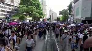 Pence backs HK protesters, slams Nike [Video]