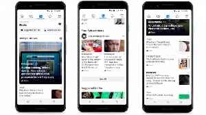 Facebook Launches News Feed With The Help Of Journalists [Video]