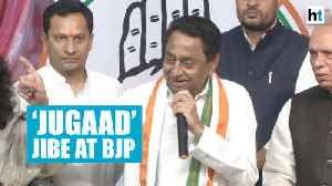 'BJP will do 'jugaad' to form government in Haryana': Kamal Nath [Video]