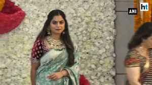 Nita Ambani, Mukesh Ambani host Diwali party for Mumbai Indians [Video]
