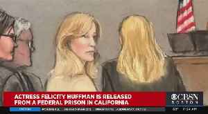 Felicity Huffman Released From Federal Prison In California [Video]