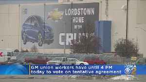 Workers At Texas GM Plant Approve Deal, Lengthy Strike Likely To End [Video]