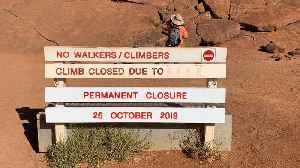 'Not a theme park': Tourists rush to beat Uluru climbing ban [Video]
