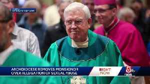 Monsignor removed over sex abuse allegation [Video]