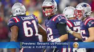 News video: Undefeated Patriots Look To Take Down Underachieving Browns