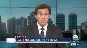 Washington banning US flights to all Cuban cities but Havana [Video]