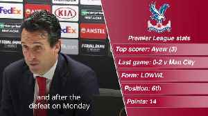 Arsenal v Crystal Palace match preview [Video]