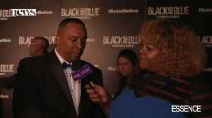 Celebrities Talk about 'Black and Blue' Parallel to Real-Life on Carpet [Video]
