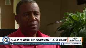 How trip to Ghana 400 years after trans-Atlantic slave trade changed this man's perspective on life [Video]