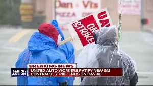 United Autoworkers ratify new GM contract; strike ends on day 40 [Video]