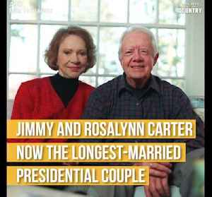 Jimmy and Rosalynn Carter Longest Married Presidential Couple [Video]