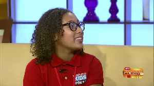 """Chatting with Local """"Kid Reporter"""" Kennedy Phifer [Video]"""