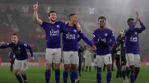 Leicester match Premier League record in rout of Southampton [Video]