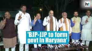 BJP-JJP ready to form government in Haryana: Amit Shah [Video]