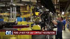News video: Ford up next for UAW contract negotiations