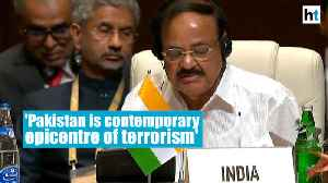 Pakistan is 'contemporary epicentre' of terrorism: Venkaiah Naidu in Baku [Video]