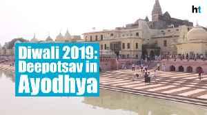 Diwali 2019: Deepotsav preparations in Ayodhya, 5.50 lakh diyas to be illuminated [Video]