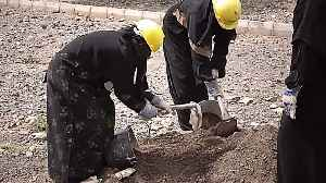 Women take on manual labour jobs in war-torn Yemen [Video]