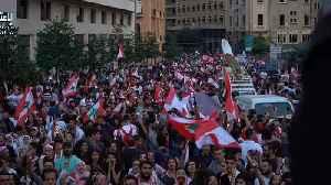 Clashes break out in anti-government protests near Tripoli, Lebanon [Video]