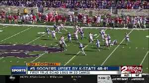 News video: Sooners Upset by Kansas State 48-41