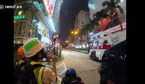 Riot police and water cannon disperse Hong Kong demonstrators [Video]