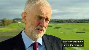 News video: Corbyn calls Lib Dem's election proposal a 'stunt'