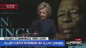 Clinton Swipes at 'King Ahab' Trump During Elijah Cummings' Funeral [Video]