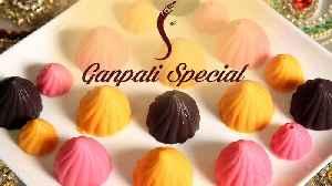 Ganpati Special Modak | How To Make Chocolate Modak | Chocolate Modak | Ganesh Festival [Video]