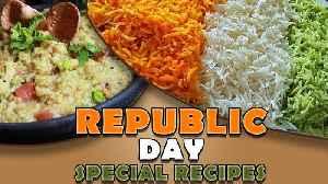 Republic Day Special Recipes | Tiranga Rice | Masala Khichdi | Cook Book | Homemade Recipes [Video]