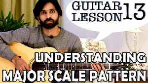 How To Play Guitar   Guitar Lessons For Beginners   Lesson #13   Understanding Major Scale Pattern [Video]