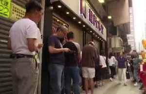 Yellow vs blue: Hong Kong's restaurants take sides [Video]