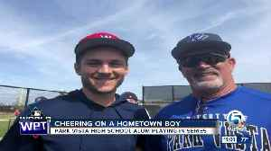 Park Vista cheers on former student athlete playing in the World Series [Video]