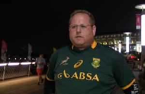 Springboks fans confident of winning World Cup after semi-final victory over Wales [Video]