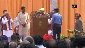 ML Khattar, Dushyant Chautala take oath as CM and Deputy CM of Haryana [Video]