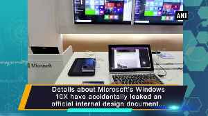 Microsoft Windows 10X leaks reveal support for laptops [Video]