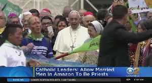 Bishops Advise Pope To Let Some Priest Marry [Video]