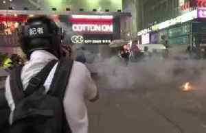 Protesters hurl petrol bombs in Hong Kong [Video]
