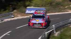 RallyRACC Catalunya - Rally de España Saturday [Video]