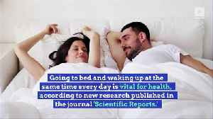 Why a Regular Bedtime Is Crucial to Your Heart and Metabolism [Video]