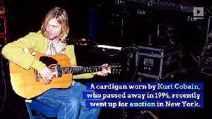 Kurt Cobain's Cardigan Sold at Auction for $334,000 [Video]