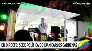 Cárdenas, alcalde de Bucaramanga [Video]