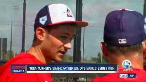 Trea Turner's grandfather enjoying Nationals' World Series run [Video]