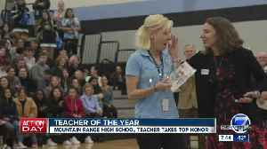 Colorado Teacher of the Year announced: Hilary Wimmer [Video]