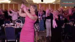 The Pink Glove Dance - Inspiring Millions Of Breast Cancer Survivors [Video]