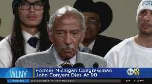 Former Michigan Congressman John Conyers Dies At 90 [Video]