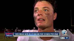 Vero Beach Fighting Indians break long-standing state record [Video]