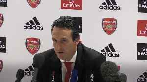 Unai Emery says Granit Xhaka was wrong to swear at fans [Video]