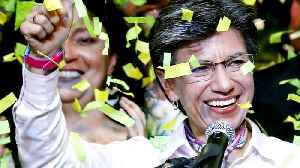 Colombia's capital Bogotá elects first woman mayor [Video]