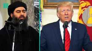 Trump Overshares At Al-Baghdadi Presser [Video]