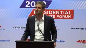 Beto Caves On Gun Ban [Video]